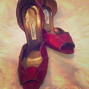 Oscar de la renta heels